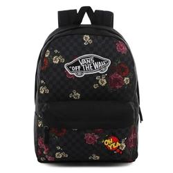 Plecak do szkoły vans realm botanical check - vn0a3ui6uwx - custom oh yea