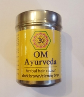 Henna do włosów - ciemny brąz 150g