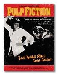 Pulp fiction twist contest - obraz na płótnie