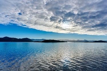 Fototapeta małe wyspy widzine z oddali fp 1414