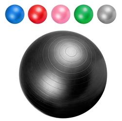 75cm piłka fitness gimnastyczna rehabilitacyjna gorilla sports czarna