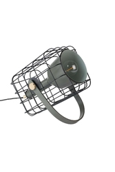 Orange line lampa stołowa cage czarna 5200072