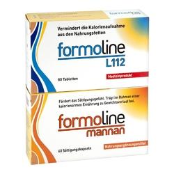 Zestaw formoline l112  tabletki 80 szt + formoline mannan kaps