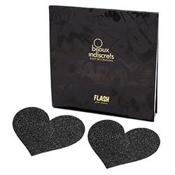 Naklejki na sutki - bijoux indiscrets flash  - czarne serce