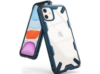 Etui ringke fusion x do apple iphone 11 space blue - niebieski
