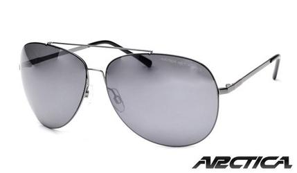 Okulary arctica s-211a poliwęglanowe pilotki