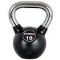 Hantla gumowana kettlebell 10 kg - insportline - 10 kg
