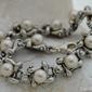 Evora - srebrna bransoletka z perłami