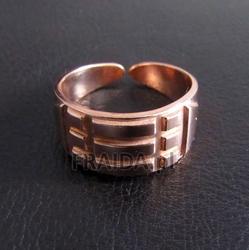 Pierścień atlantów miedziany