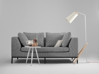 Nowoczesna rozkładana sofa ambient 2-osobowa
