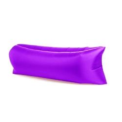 Lazy bag xxl fioletowy air sofa materac leżak na powietrze