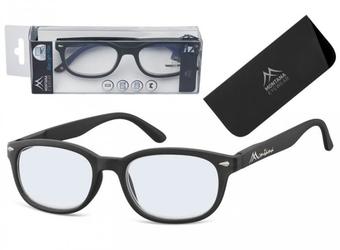 Okulary do czytania i komputera z antyrefleksem montana blf70