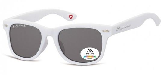 Okulary dziecięce nerdy  montana 967a polaryzacyjne matowe białe
