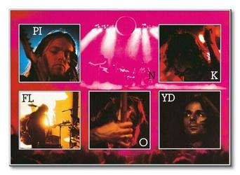Pink floyd live - obraz na płótnie