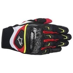 Rękawiczki alpinestars s-mx 2 air carbon biało-cze