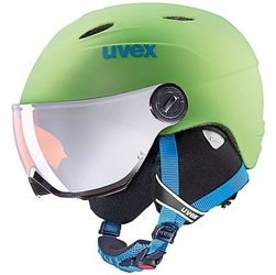Kask narciarski uvex junior visor pro 46-52cm zielony