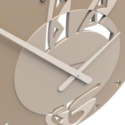Zegar ścienny ethnic calleadesign czarny 10-109-05