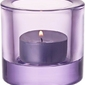 Świecznik kivi lavender