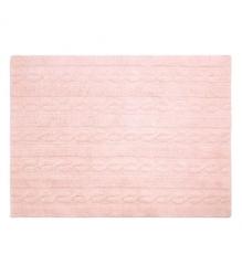 Dywan do prania w pralce trenzas soft pink