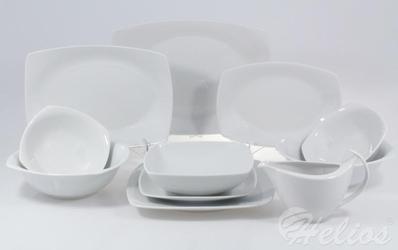 Serwis obiadowy bez wazy dla 12 os.  44 części - c000 akcent