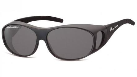 Okulary z polaryzacją hd fit over dla kierowców, na okulary korekcyjne fo1g