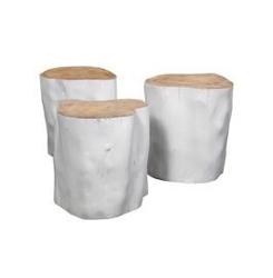 Hk living :: stolikstołek pień