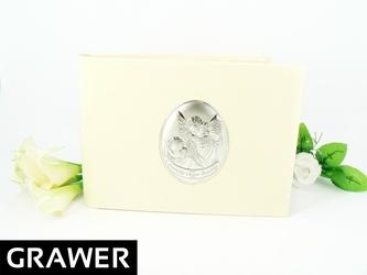 Album za zdjęcia pamiątka chrztu srebro 925 grawer