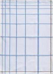 Ściereczka do naczyń zone 70 x 50 cm biała w niebieską kratkę
