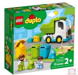 Lego 10945 duplo śmieciarka i recykling