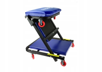 Leżanka warsztatowa składana taboret 2w1 wózek geko