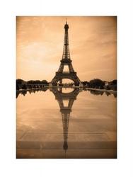 Paryż refleksja - reprodukcja