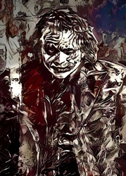 Legends of Bedlam - Joker, DC Comics - plakat Wymiar do wyboru: 20x30 cm