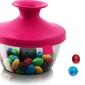 Pojemnik na przekąski popsome candy  nuts różowy