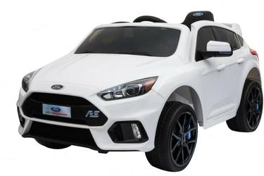 Ford focus rs biały samochód na akumulator + pilot