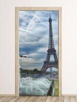 Fototapeta na drzwi wieża eiffla fp 5715