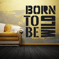 Born to be wild 1706 szablon malarski