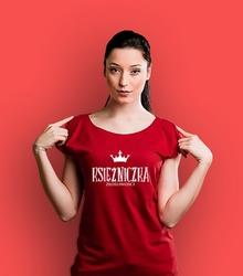 Księżniczka złośliwości t-shirt damski czerwony xxl
