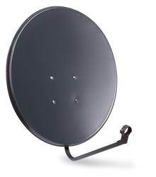 Czasza antena satelitarna 80 cm grafitowa  - szybka dostawa lub możliwość odbioru w 39 miastach