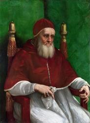 Reprodukcja portrait of pope julius ii, rafael santi