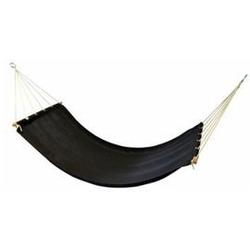 Miloo :: hamak ogrodowy alicante czarny 78 x 208 cm