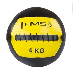 Piłka do ćwiczeń wall ball wlb4 4 kg - hms - 4 kg