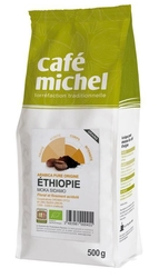 Café michel | moka sidamo etiopia kawa ziarnista 500g | organic - fairtrade