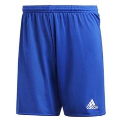 Spodenki adidas parma16 jr aj5882 niebiesko-białe