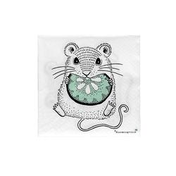 Serwetki papierowe myszka bloomingville