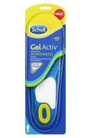 Scholl gelactiv men wkładki do sportowego obuwia rozmiar 8-13 x 2 sztuki
