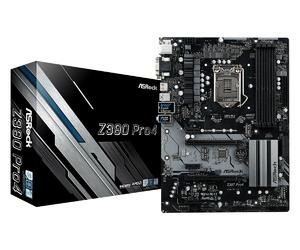 ASRock Płyta główna Z390 Pro4 s1151 4DDR4 HDMIDVIDSUBM.2  ATX