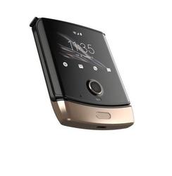 Motorola smarfton razr gold