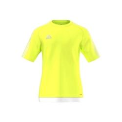 Koszulka adidas estro15 jr s16160 żółto-biała