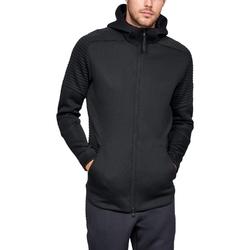 Bluza męska under armour unstoppable move fz hoodie - czarny