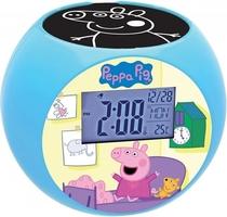 Budzik zegar z projektorem radio świnka peppa pepa pig